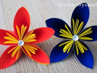 Easy Origami Flower Kusudama