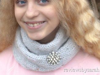 Loom Knit Infinity Scarf