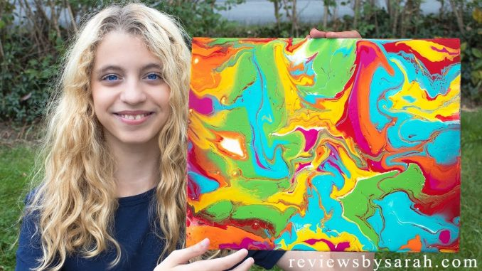 How to Pour Paint Pouring on Canvas