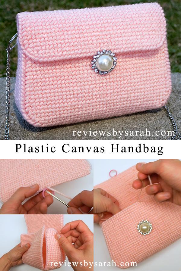 Plastic Canvas Bag Purse