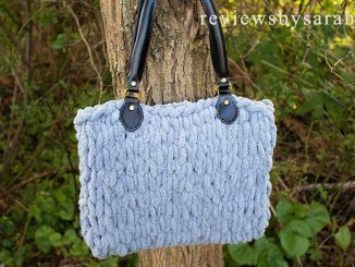 Easy Loop Yarn Finger Knit Bag